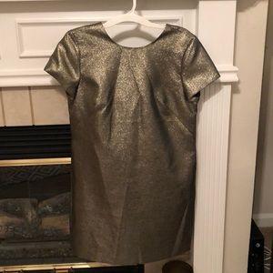 Madewell Gold Dress